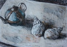 Teapot and Shells