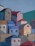 Hillside Village of Gimari, Corfu
