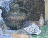 Tibetan Teapot and Shell