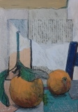 Oranges and Blue Chair