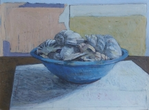 Blue Bowl of Shells