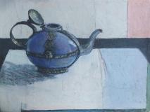Tiny Lilac Teapot