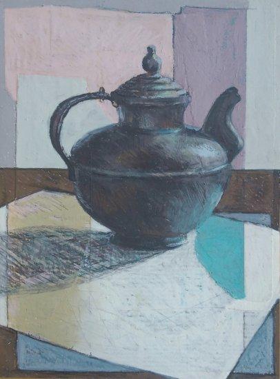 Tibetan Yak Butter Teapot