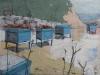 Bee Hives in Corfu
